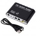 Аудио декодер цифрового звука с оптического SPDIF в аналоговий 5.1 RCA тюльпаны  ( Конвертер оптический AC3, DTS, DOLBY DIGITAL)