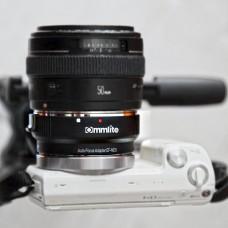 Переходник  COMMLITE  для SONY A7, A7s,a6000,a6030 на Canon(SONY E - Canon EF)  Для SONY NEX, SONY A7, SONY A7s, SONY a5000, SONY a6000, SONY a6300