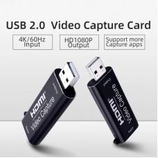 HDMI в USB 2.0 внешняя видео карта видеозахвата для ноутбука ПК, адаптер оцифровка запись ХДМІ в ЮСБ ( HDMI Video Capture USB2.0 AY103 )