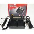 Фирменное двойное (двухканально) зарядное устройство Batmax для аккумуляторов Canon LC-E6E / LP-E6  для 5D Mark 2 3 4 6D 7D 60D 70D 80D