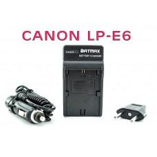 Зарядное устройство для аккумуляторов Canon LP-E6 ( LC-E6E ) - Кенон 5D Mark 2, 3, 4, 5DS, 5DS R, 6D, 7D, 60D, 60Da, 70D, 80D, XC10