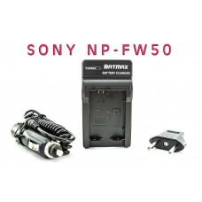 Зарядное устройство для аккумуляторов Sony NP-FW50 - Alpha 7 7R 7R II 7S a7R a7S a7R II a5000 a5100 a6000 NEX-5T