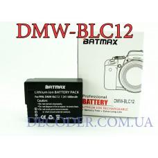 Batmax DMW-BLC12, Аккумуляторная батарея 1400mA для Panasonic FZ1000, FZ200, FZ300, G5, g6, G7, GH2, DMC-GX8
