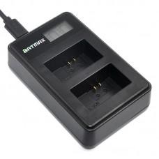 Для Sony NP-FW50 - Двойное USB цифровое аккумуляторное зарядное устройство