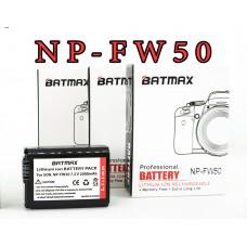 Batmax NP-FW50, 2000mA, (Sony) Аккумуляторная батарея для цифровых фото-видеокамер Sony NEX, Alpha