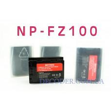 Batmax NP-FZ100, 2280mAh, (Sony) Аккумуляторная батарея для цифровых фото-видеокамер Sony Alpha 9 аккумулятор