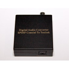 ADCN0003M1, coaxial to spdif (optical, toslink) converter, coaxial to optical converter, coaxial to toslink, converter
