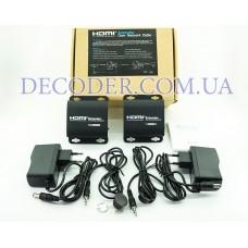 Удлинитель HDMI 3D 1080P Extender TX / RX до 60 М с ИК датчиком через кабель CAT6 локальной сети RJ45