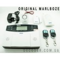 Сигнализация GSM Marlboze PG-500 для дома с беспроводными датчиками