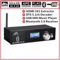 Аудіо декодер ARC 4K HDMI 2.0 конвертер цифрового оптичного 5.1 звуку SPDIF в аналоговий тюльпани 6 RCA ЦАП (UD951B)