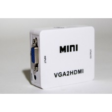 Видео Конвертер, преобразователь, VGA + Audio на HDMI 1080p Converter, HDV-M600