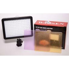 Накамерный свет видео Wansen W160 фото видеосвет 160 LED Video Light